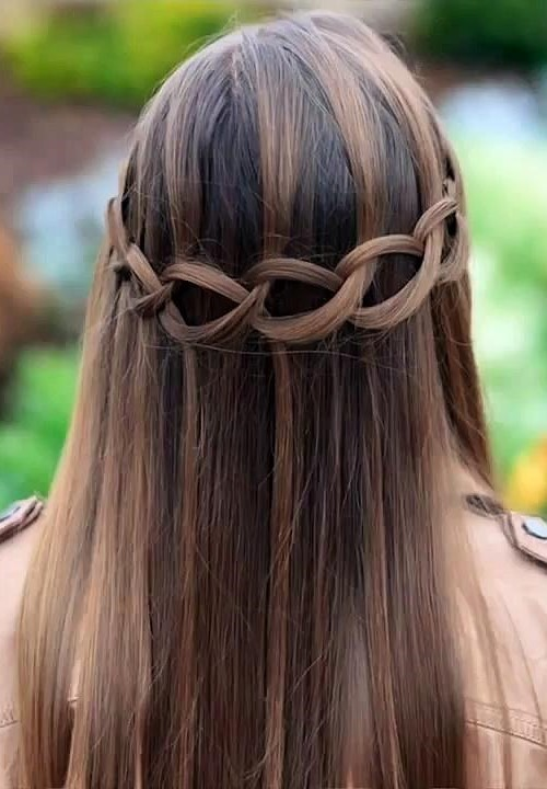 Cutest Waterfall Braid Hairstyles 2016 2019 Haircuts