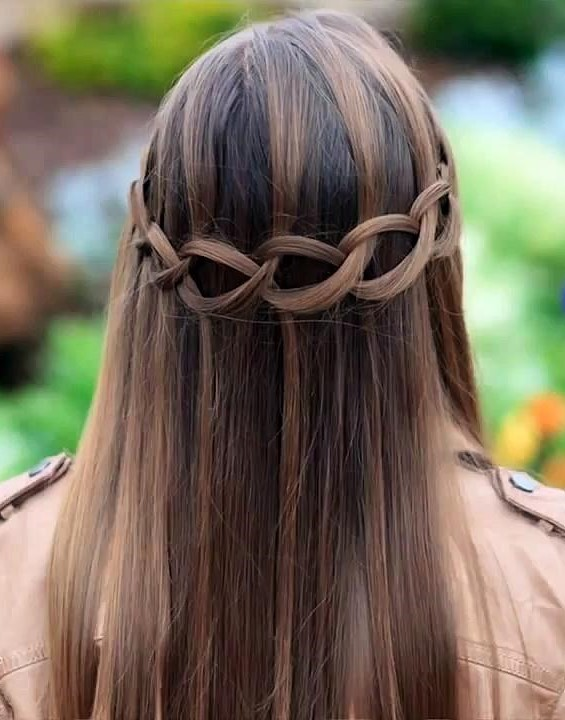 Cutest Waterfall Braid Hairstyles 2016 2019 Haircuts Hairstyles
