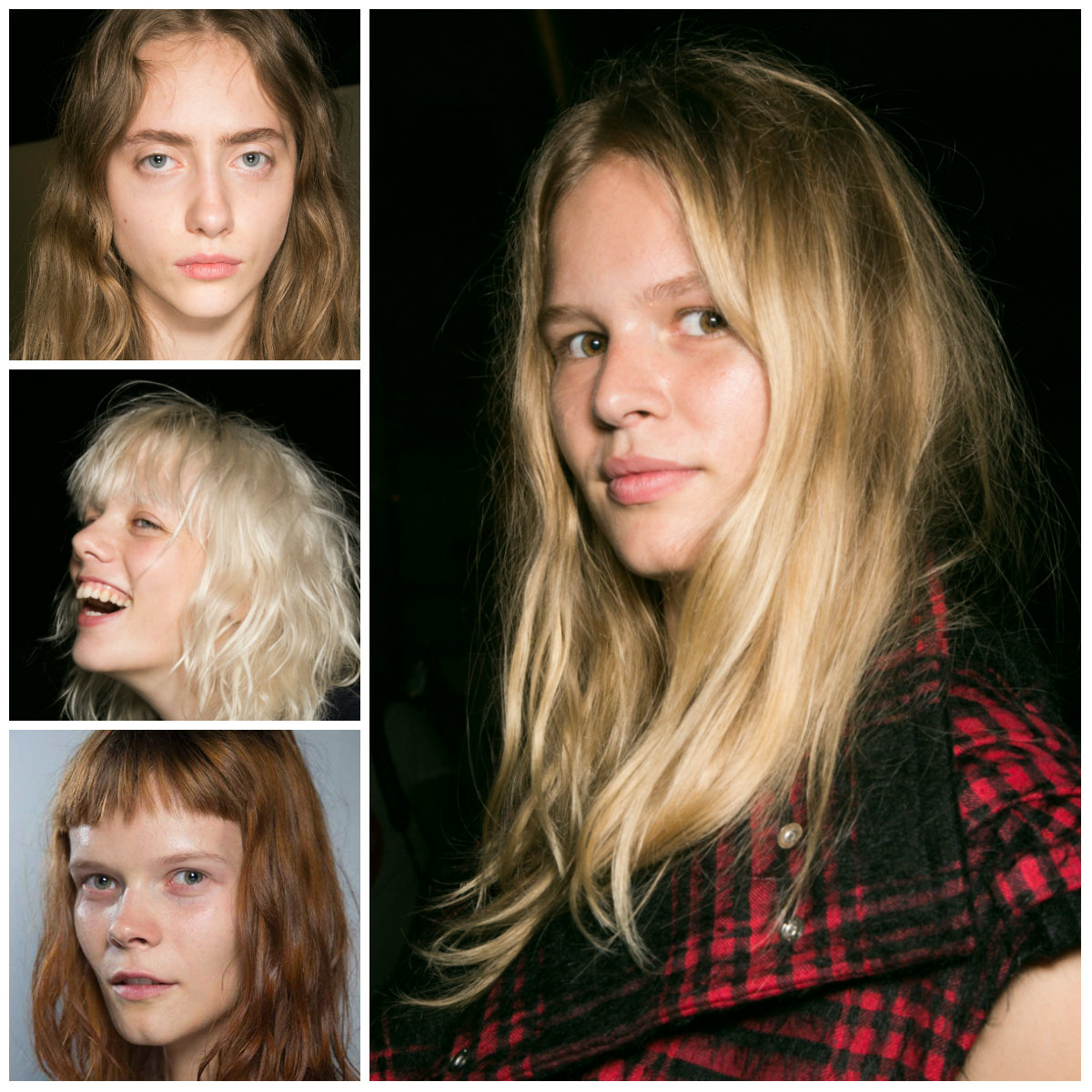Alexander Wang hair colors for 2016