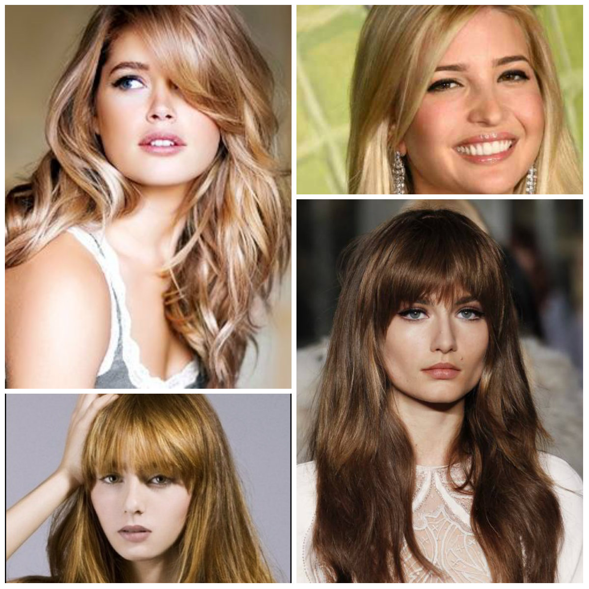 Long Side Bang Hairstyles Bangs Hair Easy With Regard To Most Por Medium