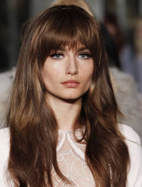 Best Hairstyle with bang for autumn 2016