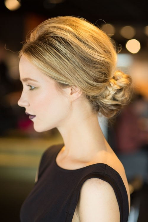 braided bun hairstyle 2016