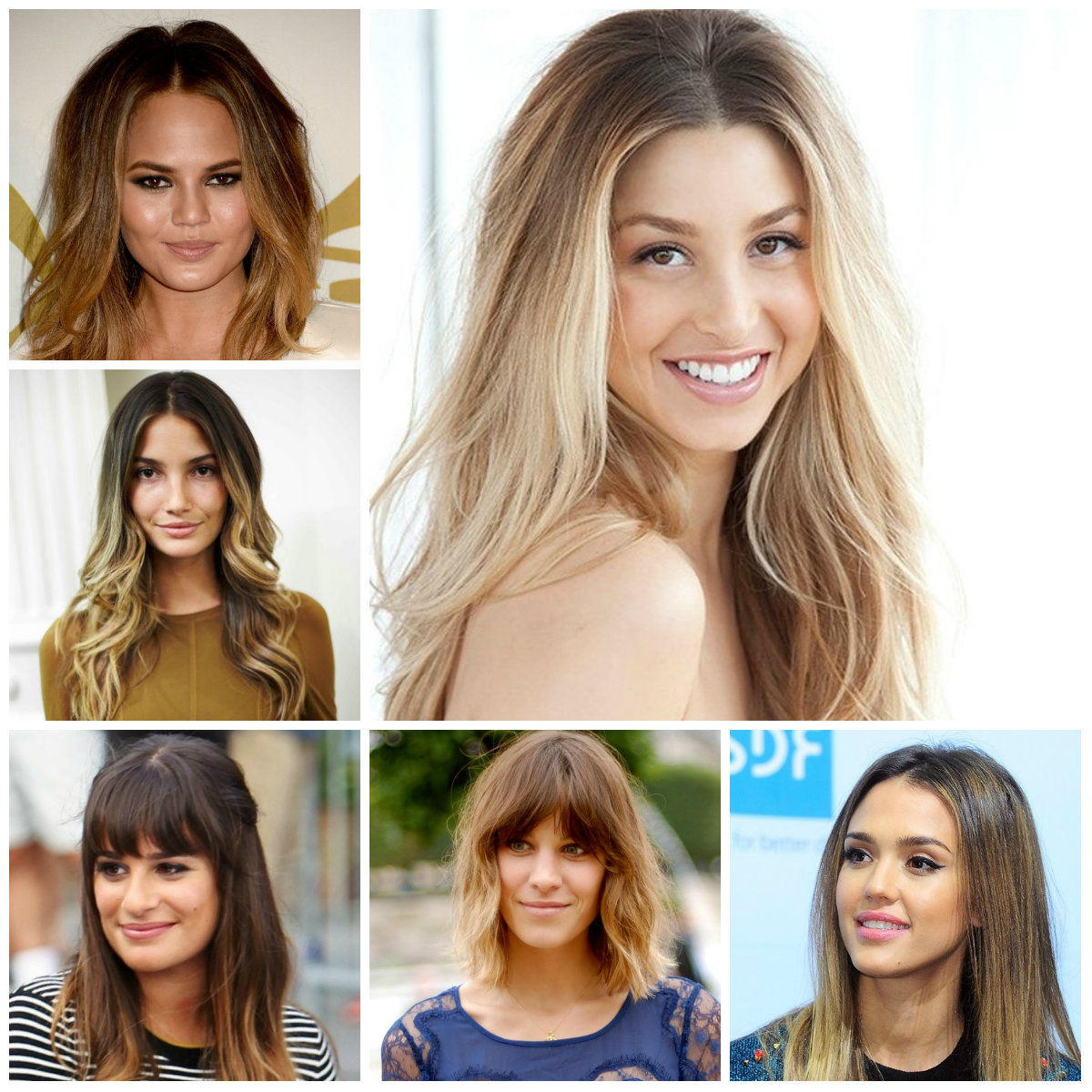 celebrity ombre hair colors for 2016