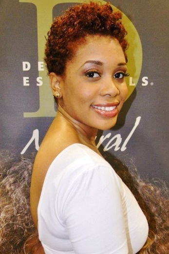 curly pixie haircut for black women 2016