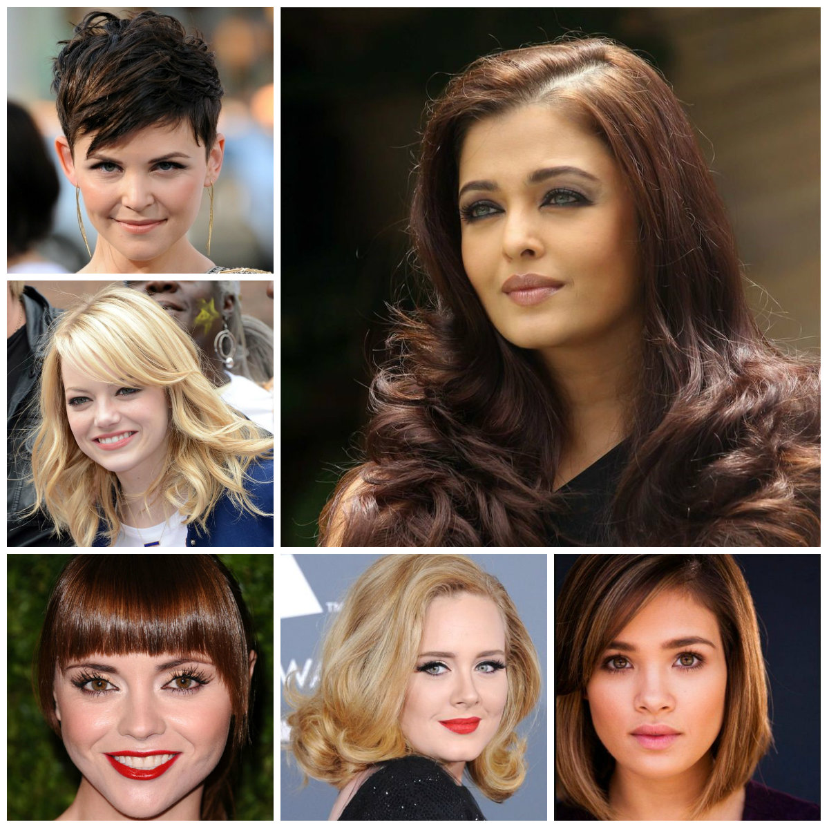 ... hairstyles for round faces 2016