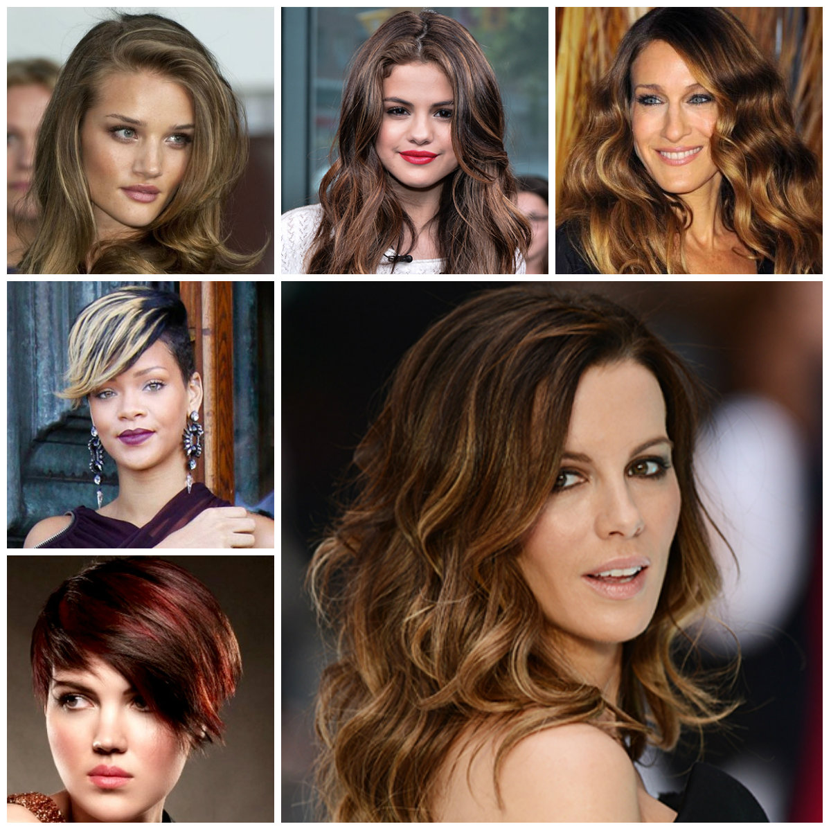 highlights for dark hair 2016