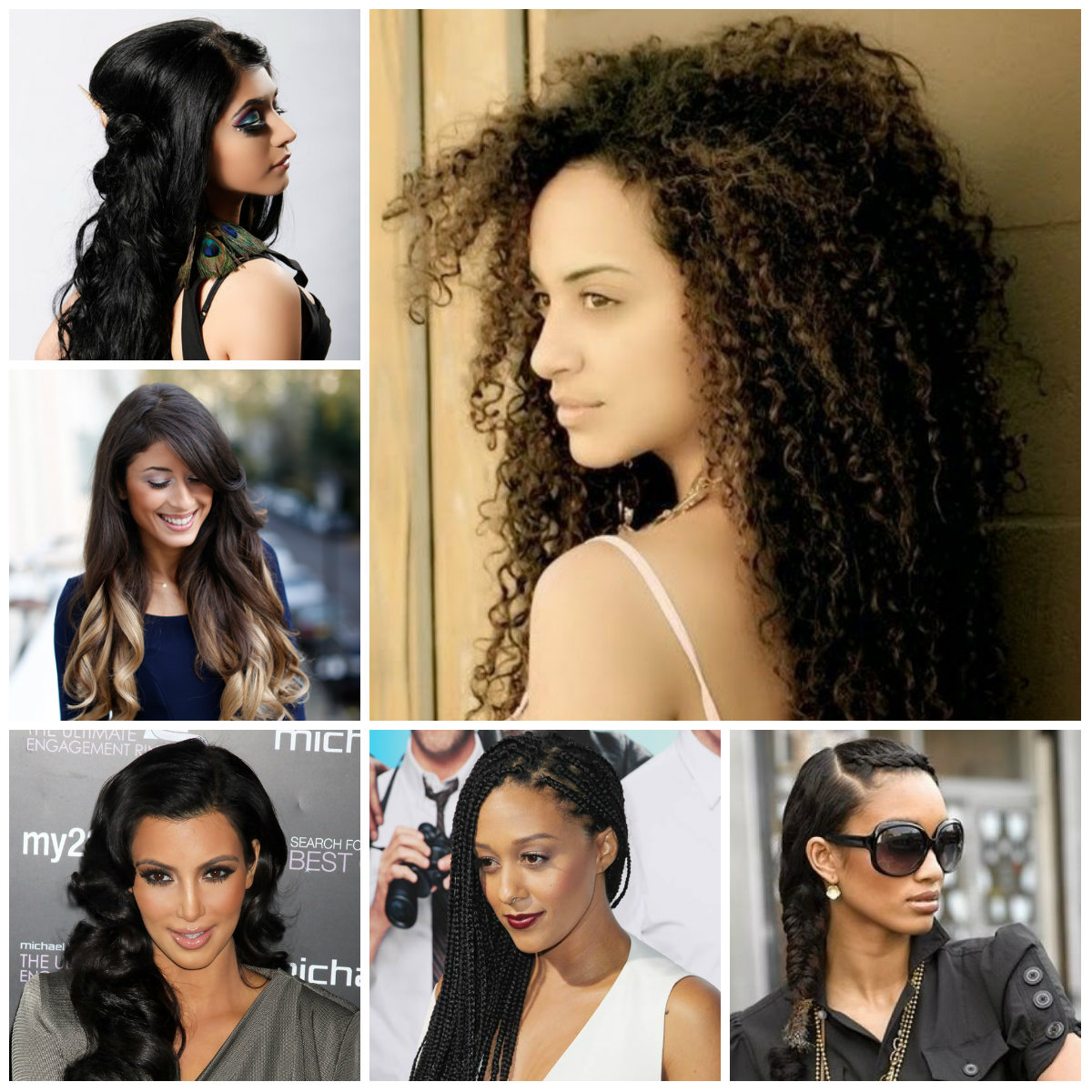 long black hairstyles 2016