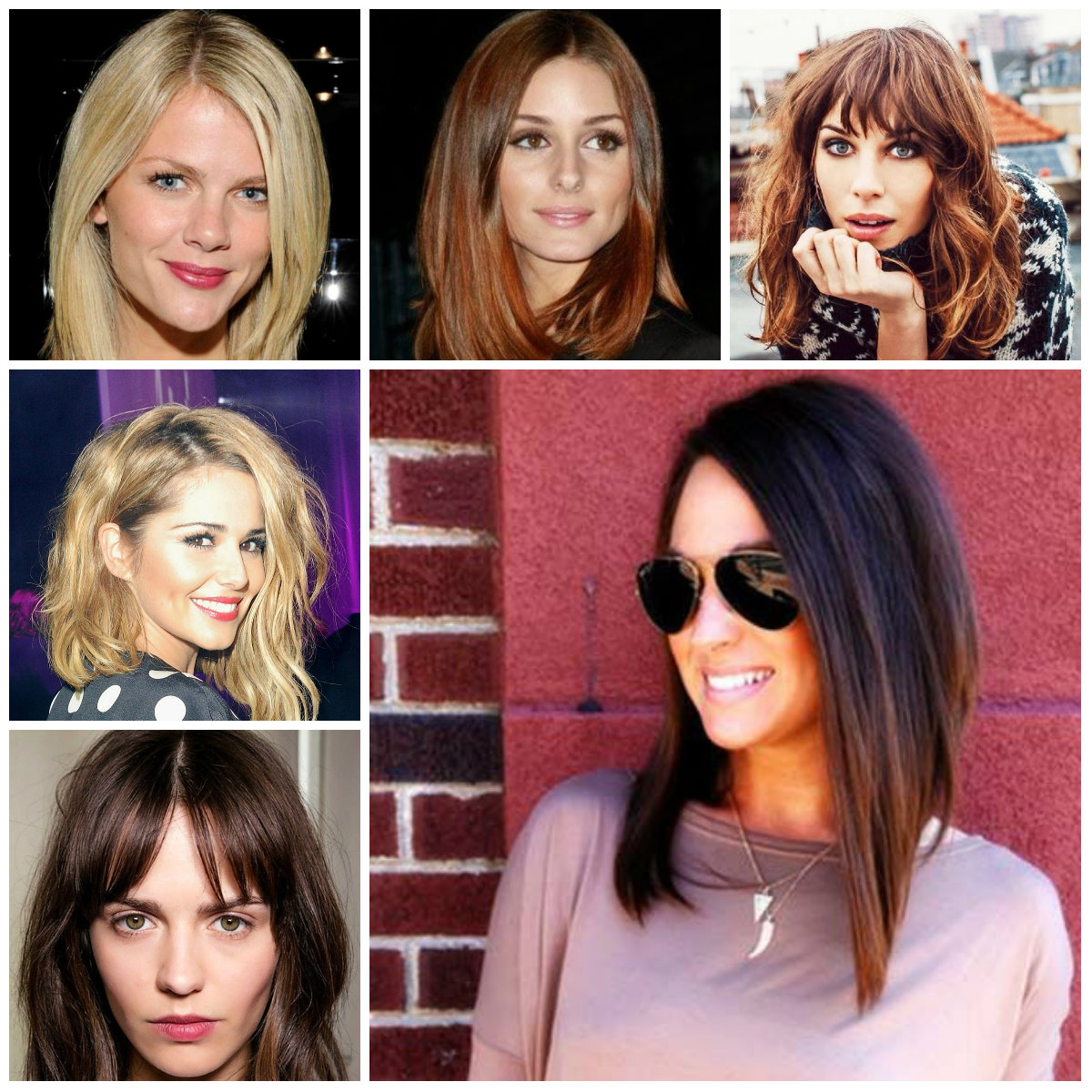 Trendy long bob haircuts for 2016 2017 haircuts hairstyles and long bob haircuts 2016 winobraniefo Image collections