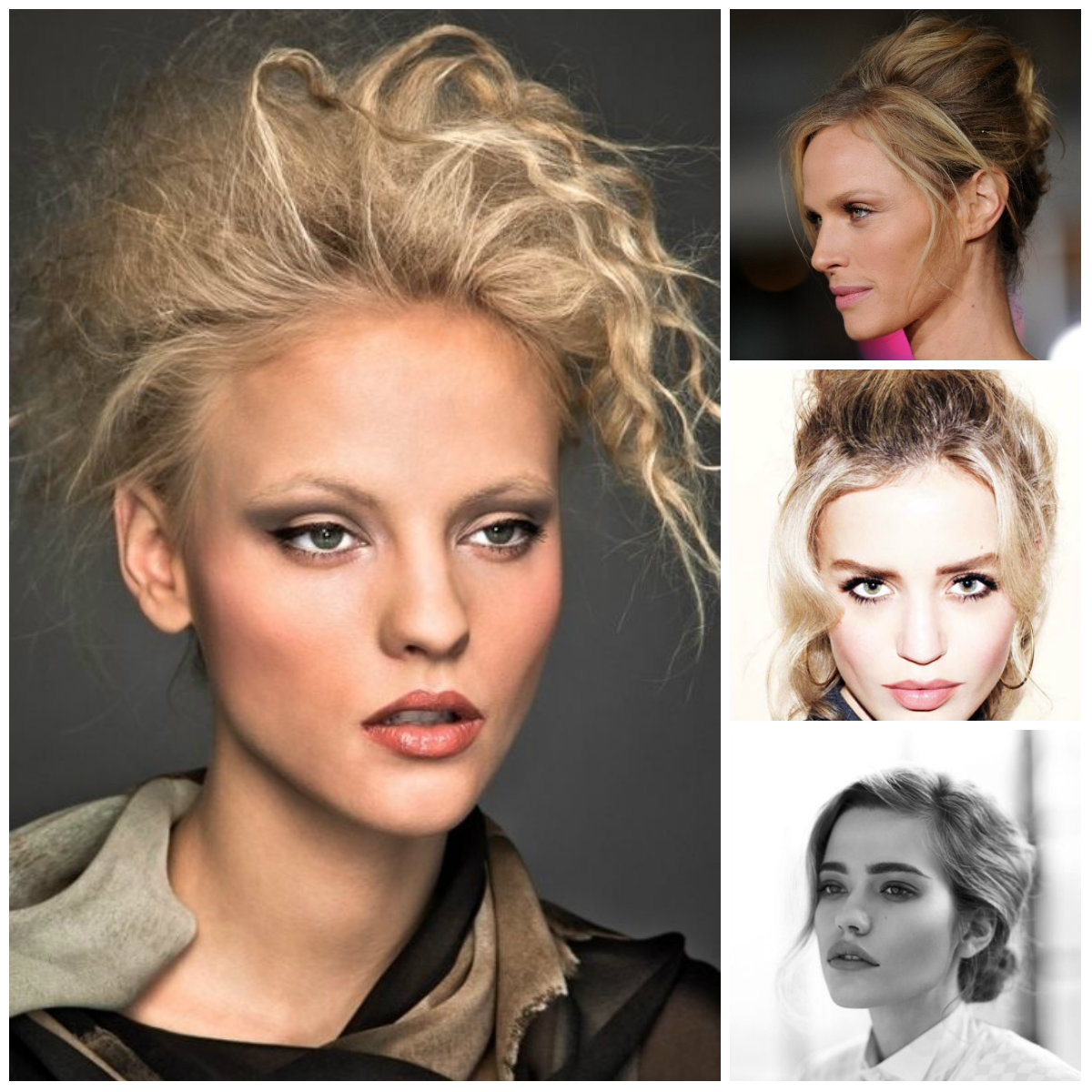 messy updo hairstyles 2016