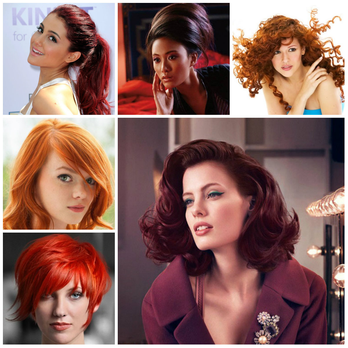 red hairstyles for 2016