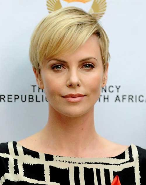 short casual pixie hairstyle 2016
