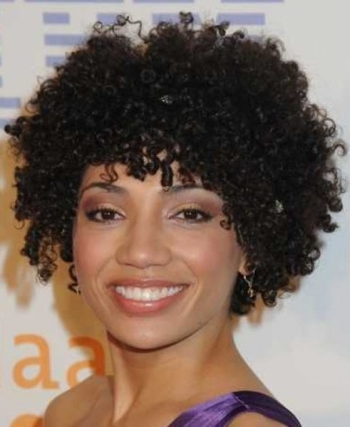 Wondrous 2016 Trendy Short Natural Afro Curls 2017 Haircuts Hairstyles Hairstyle Inspiration Daily Dogsangcom