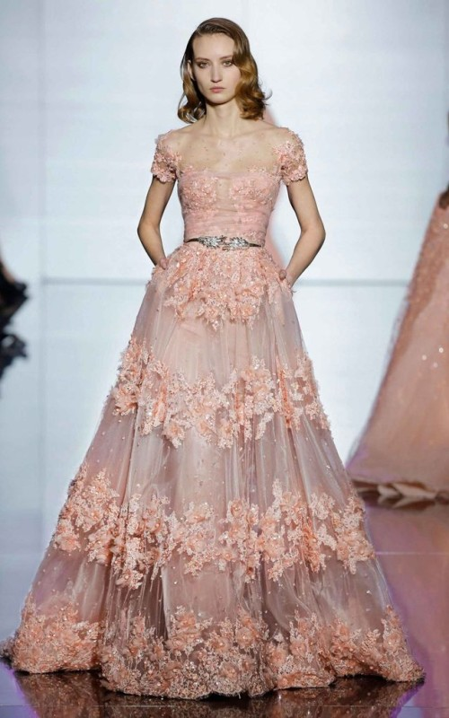 short finger waves hairstyle Zuhair Murad 2016
