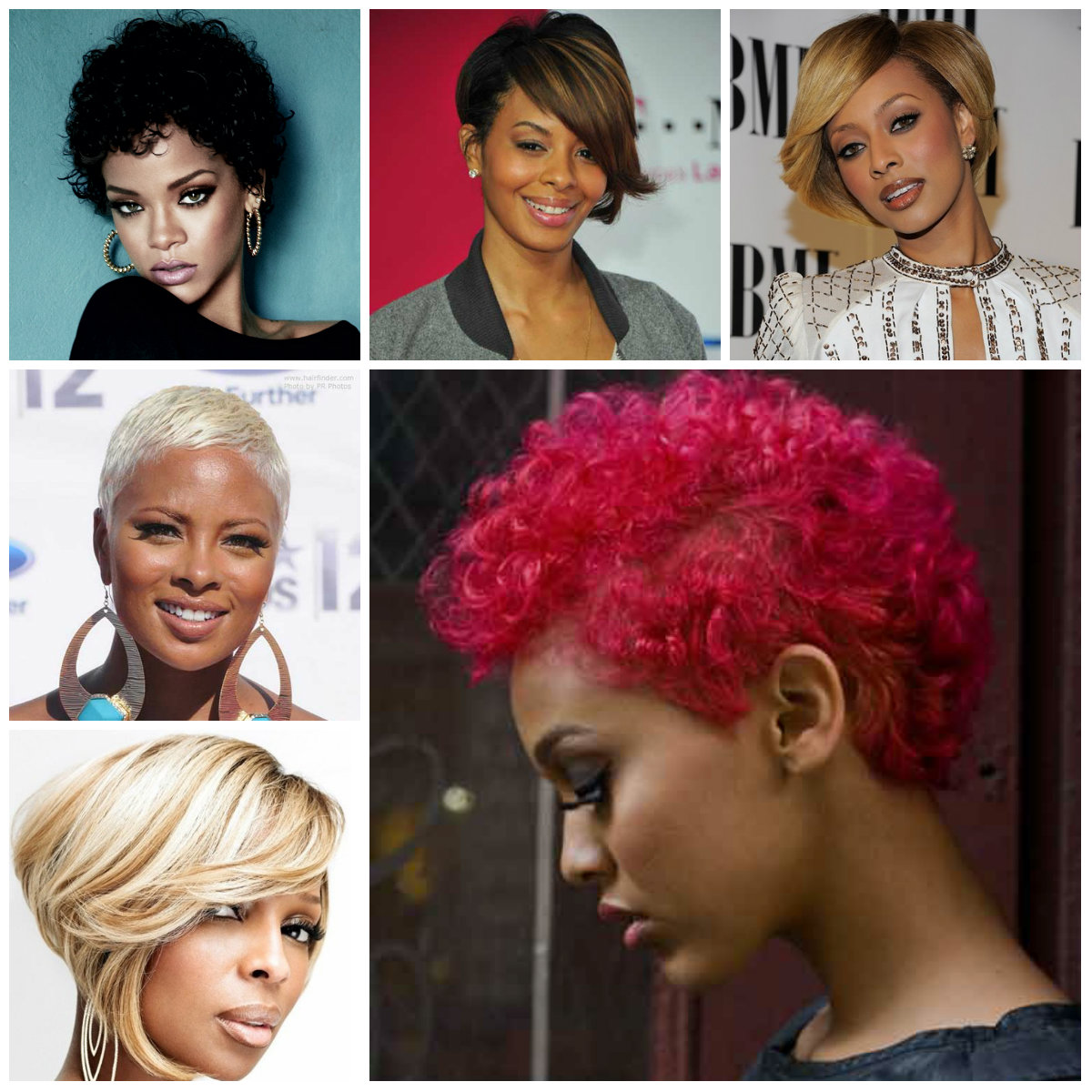 short haircuts for black women 2016