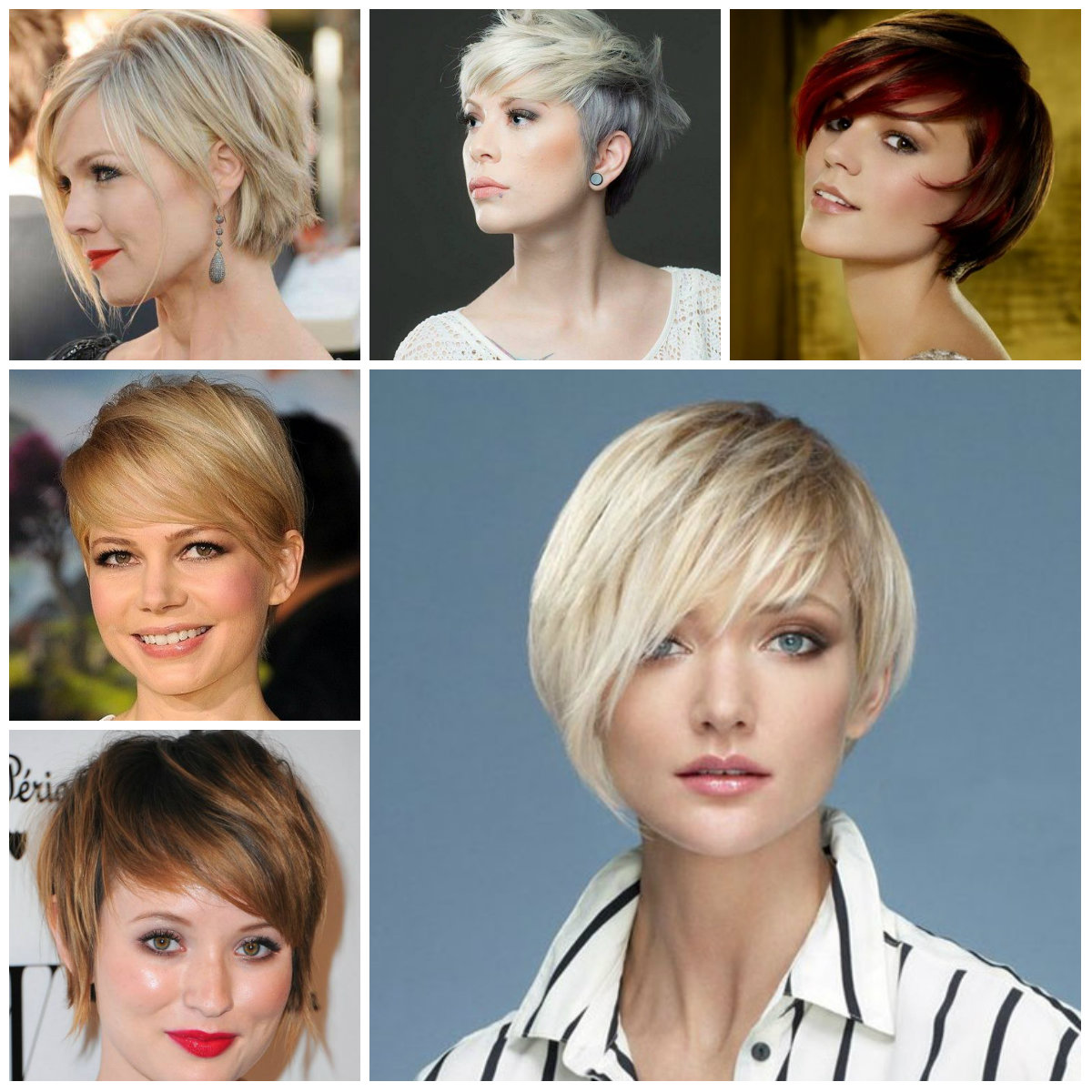 Short Haircut Ideas For Fine Hair 2016