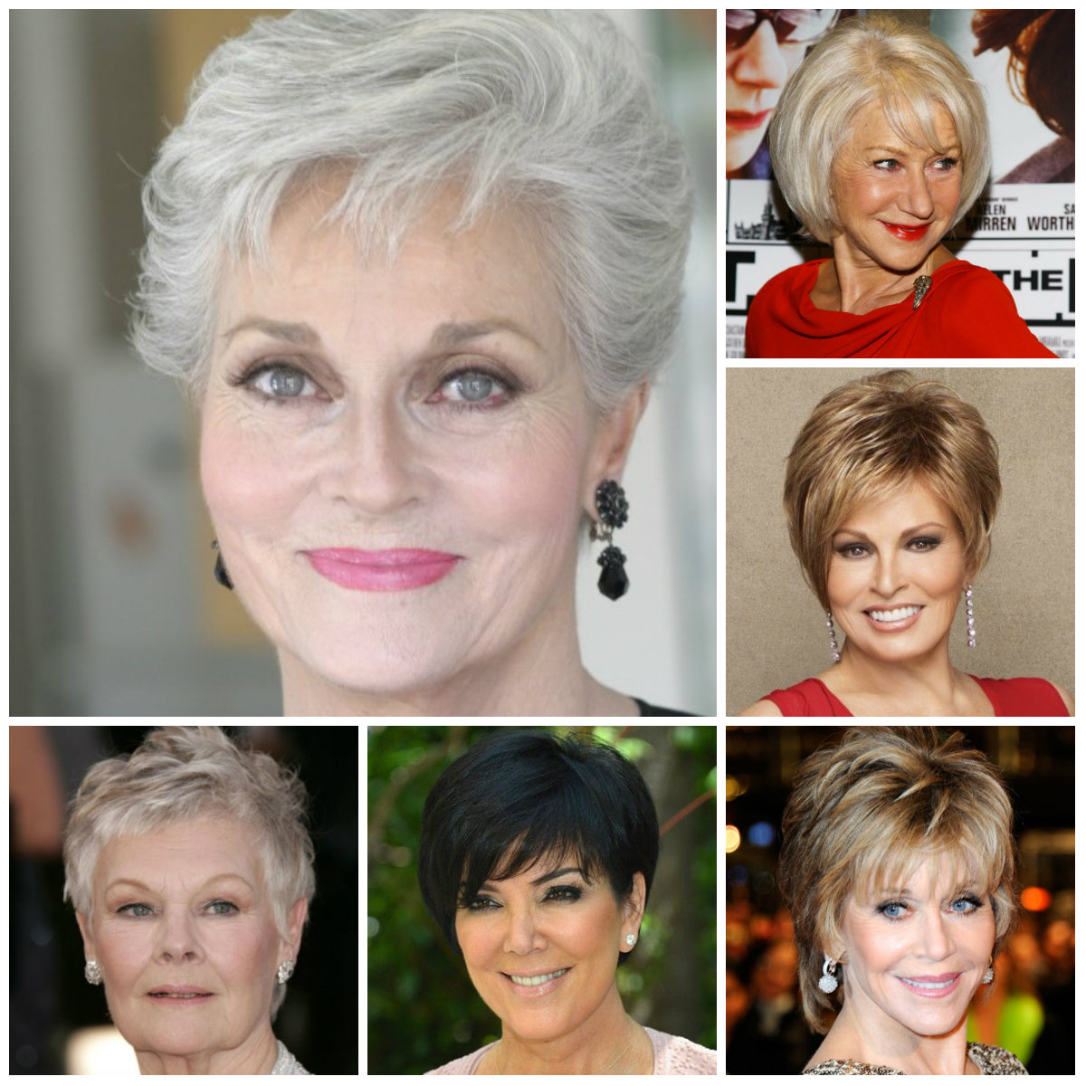 short haircuts for mature women 2016