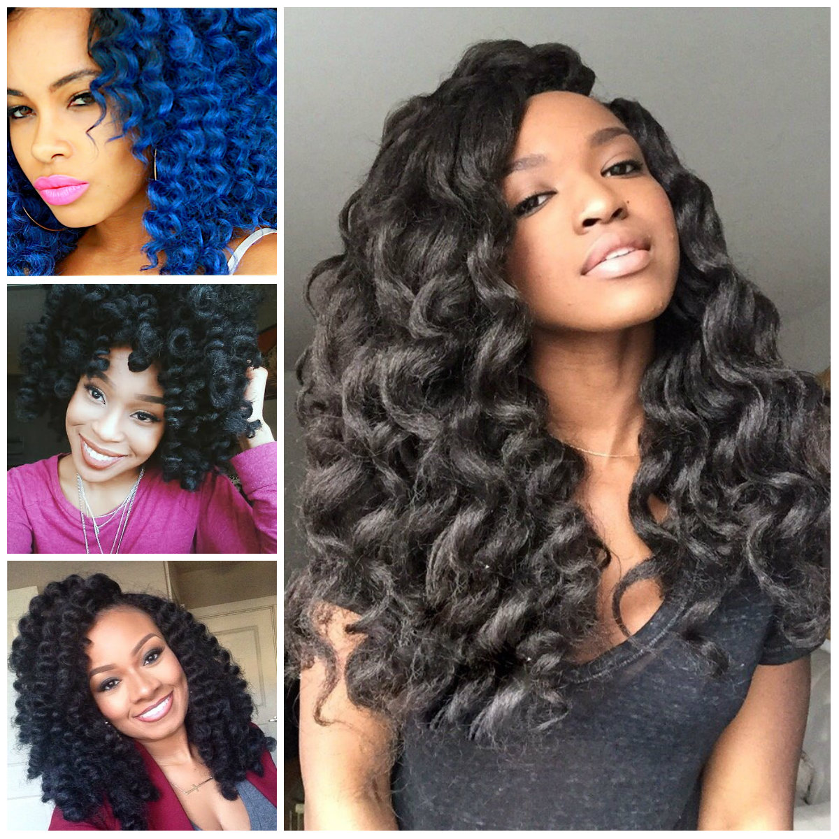 Crochet Braids Hairstyle Ideas for Black Women 2016