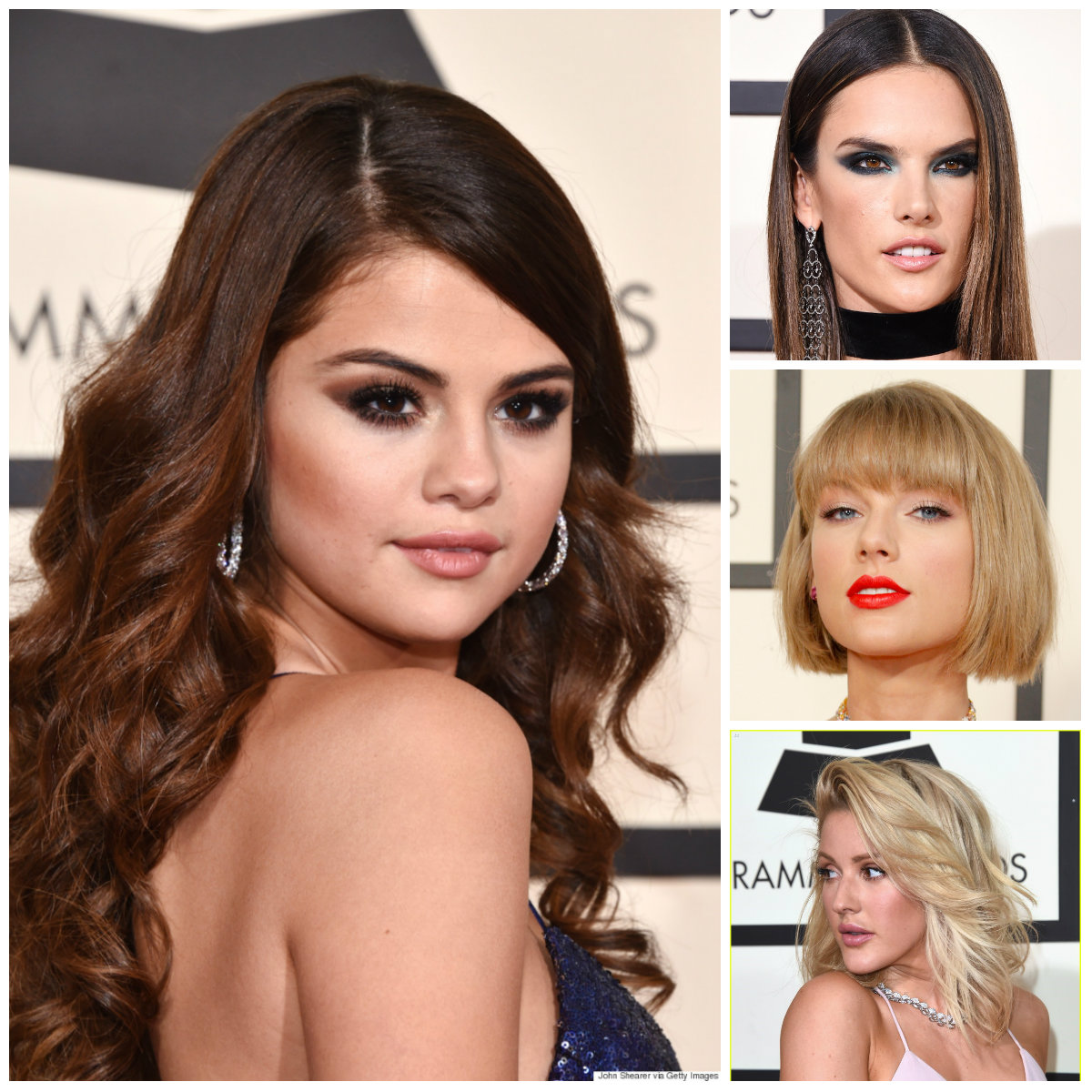 Grammy Awards 2016 celebrity hairstyles