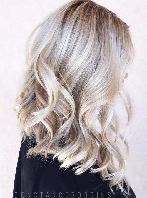 ash blonde hair with silver highlights 2016