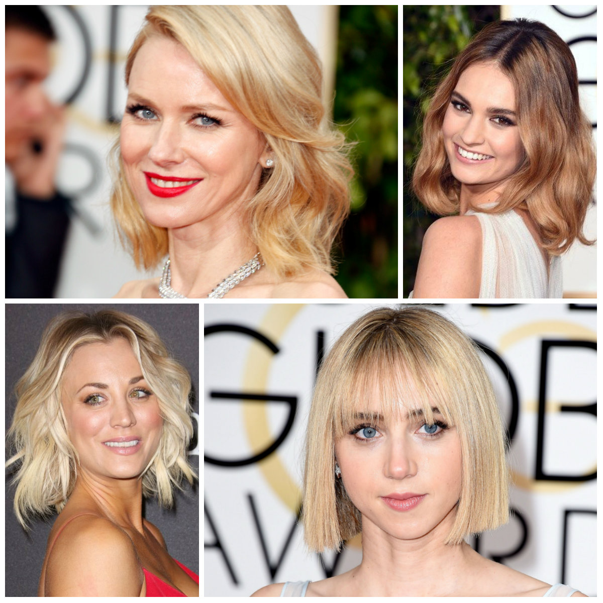 bob hairstyles Golden Globes 2016