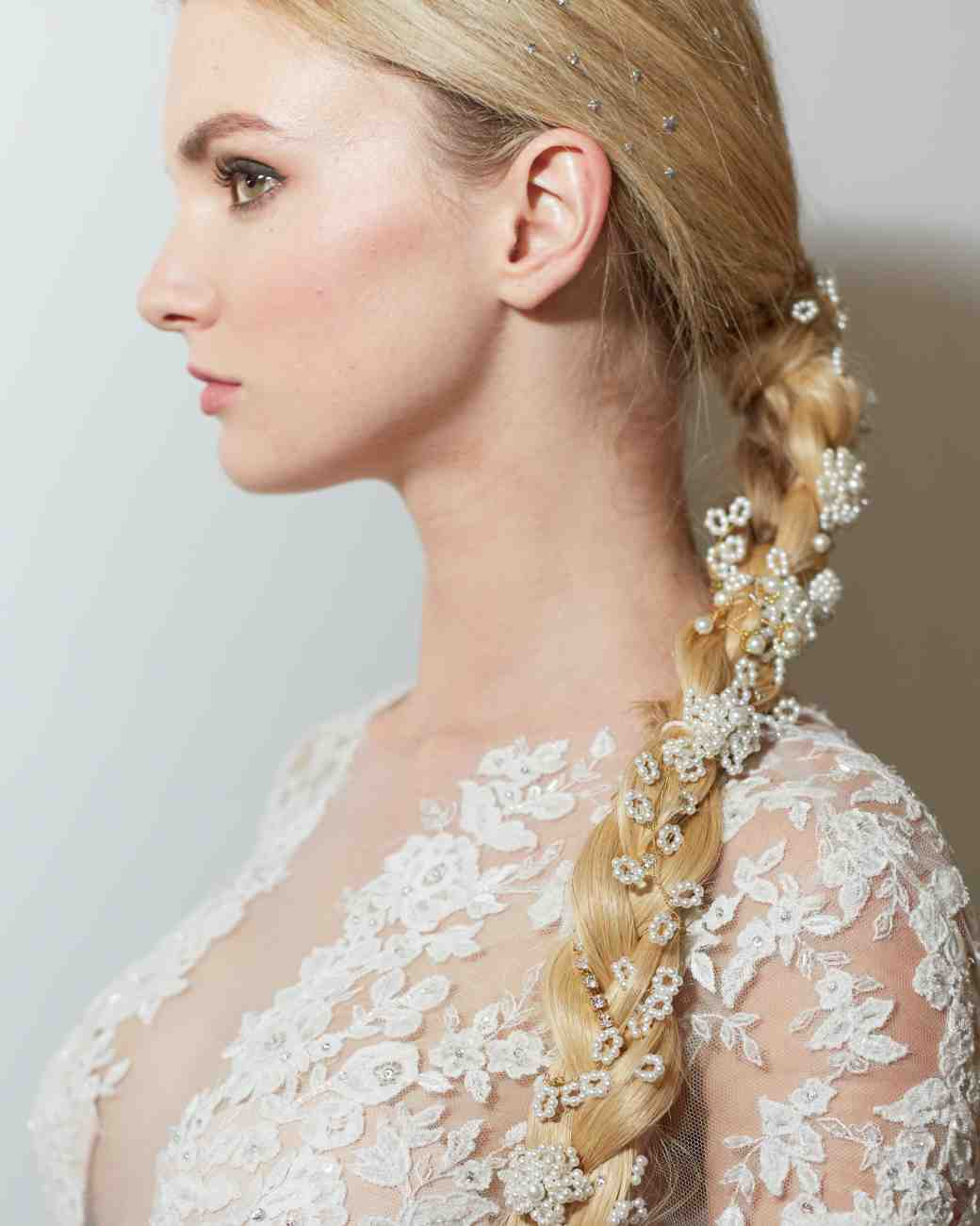 braided hairstyle wedding 2016