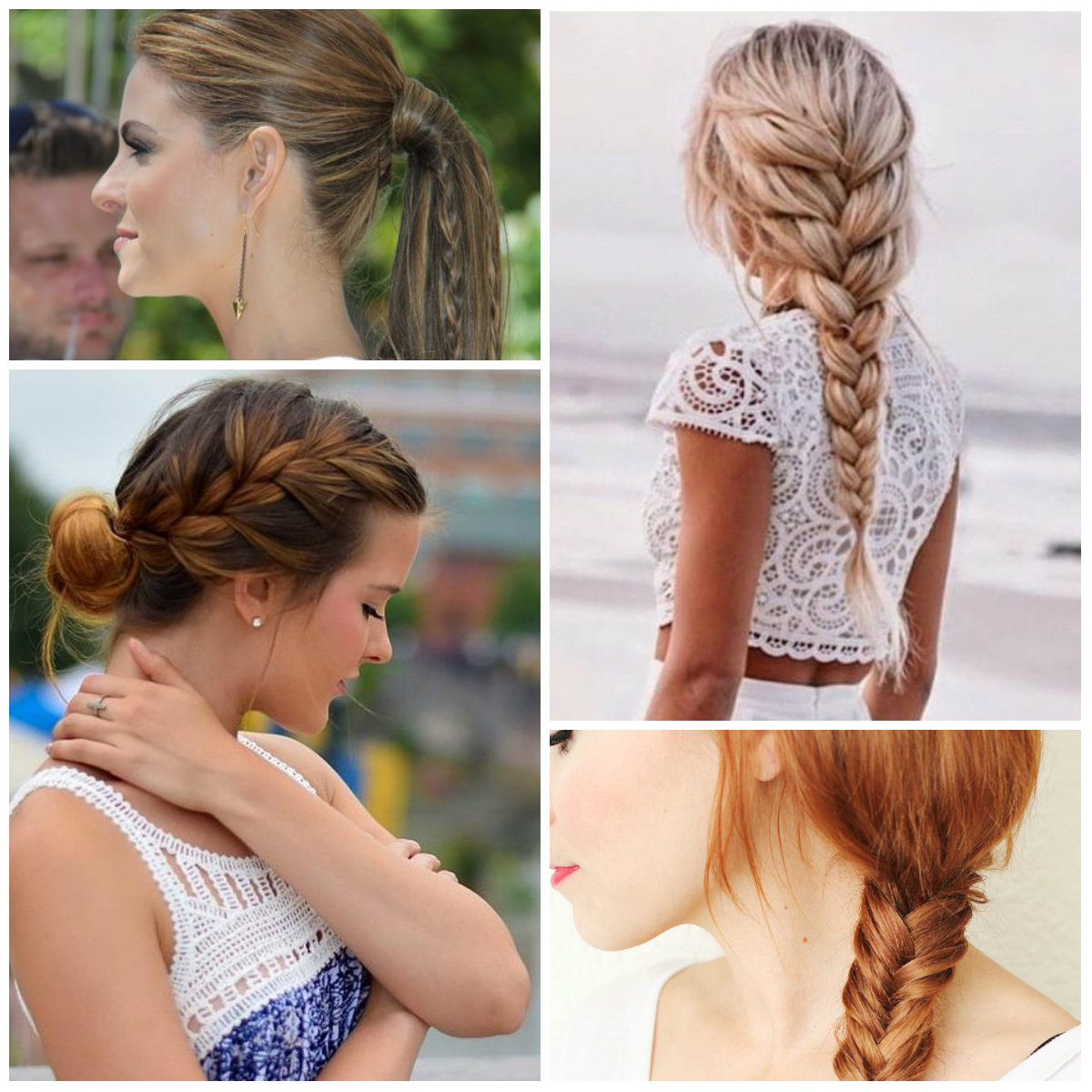 easy braided hairstyles 2016