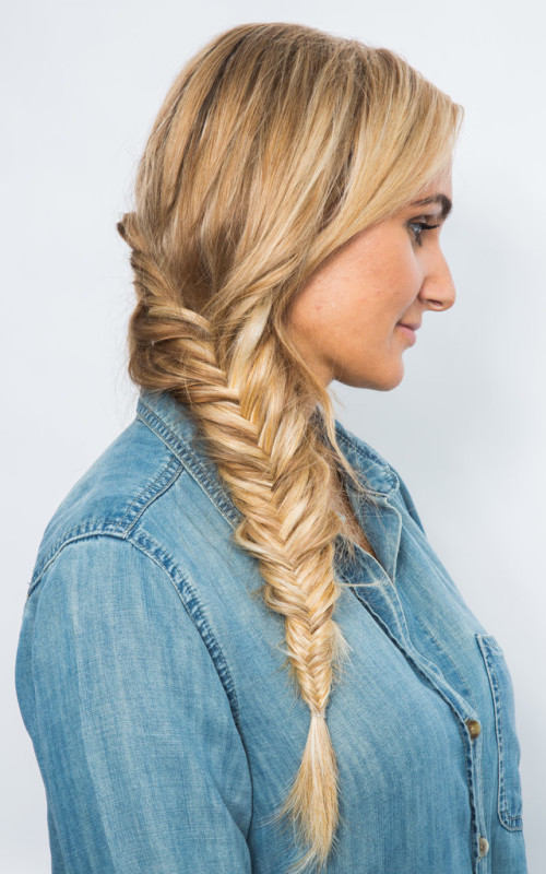 fishtail braid hairstyle 2016