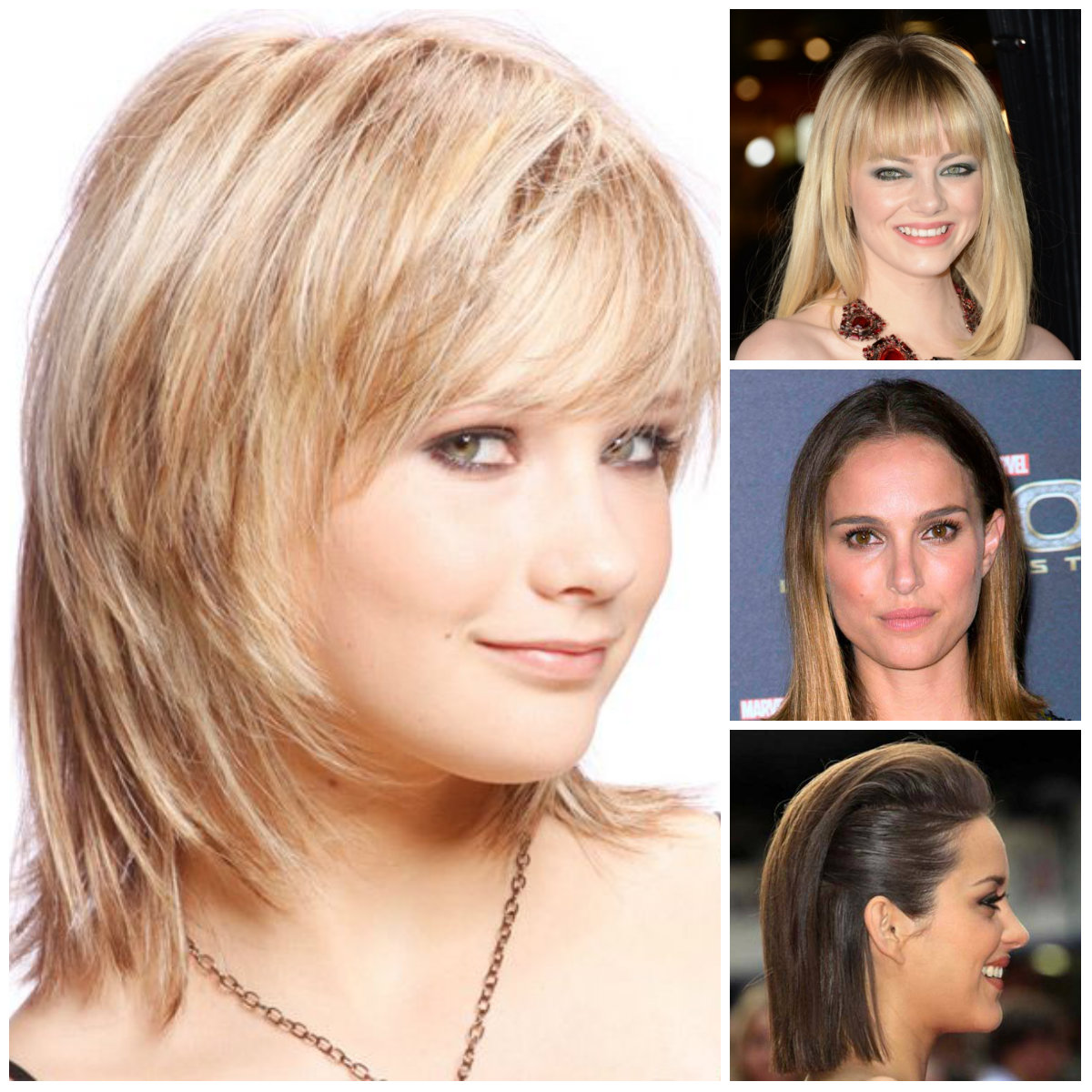 medium straight hairstyles 2016
