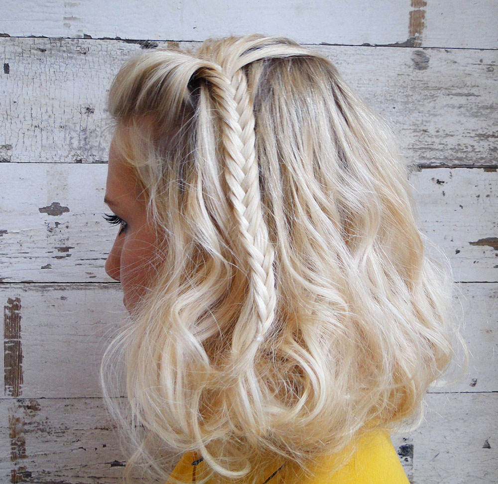 Fishtail Braid Hairstyles: 2016 Hottest Hairstyles With Fishtail Braids