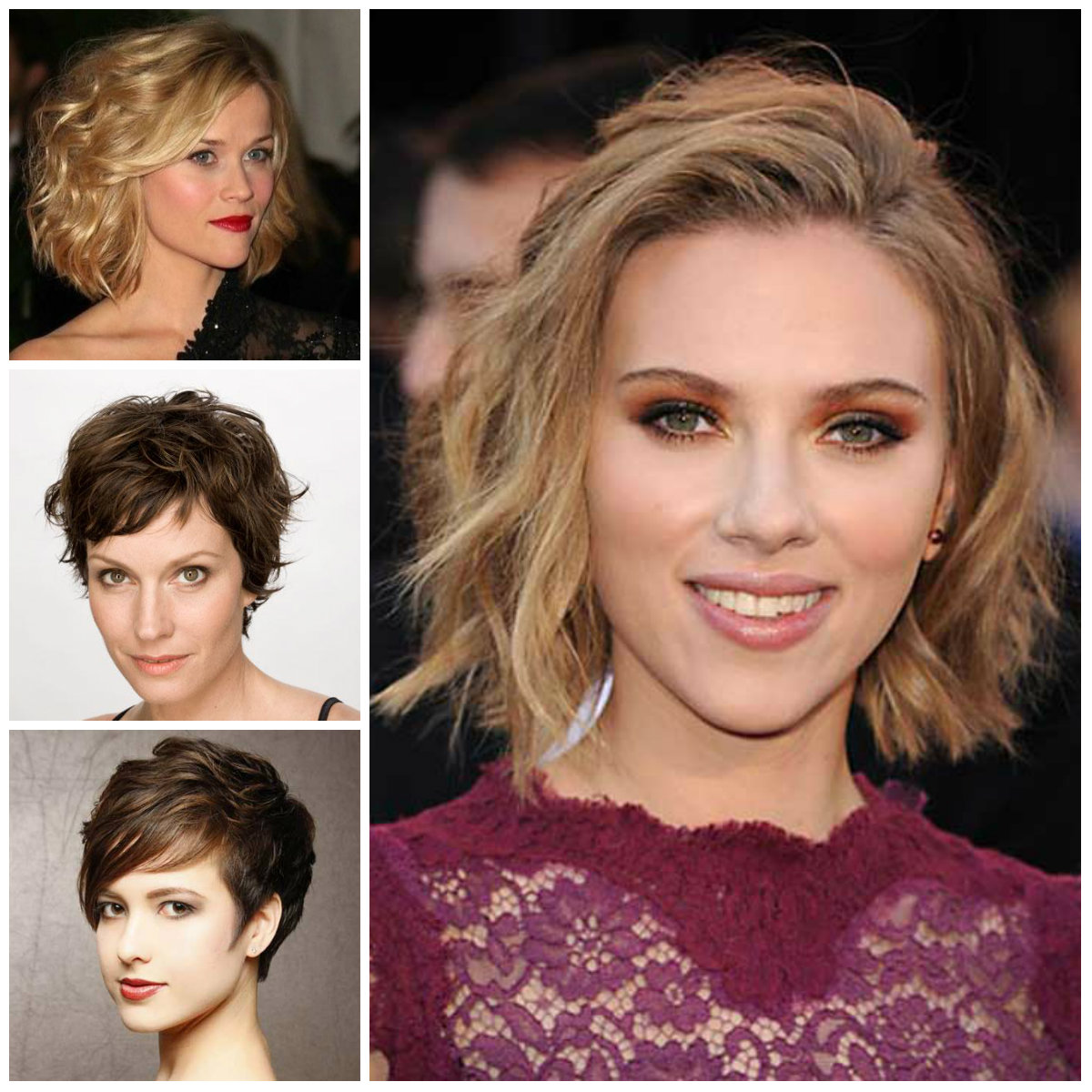 short touseled haircuts 2016