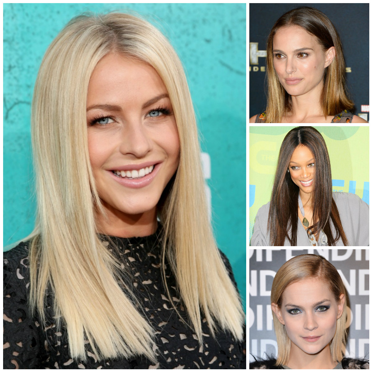 sleek straight hairstyles 2016