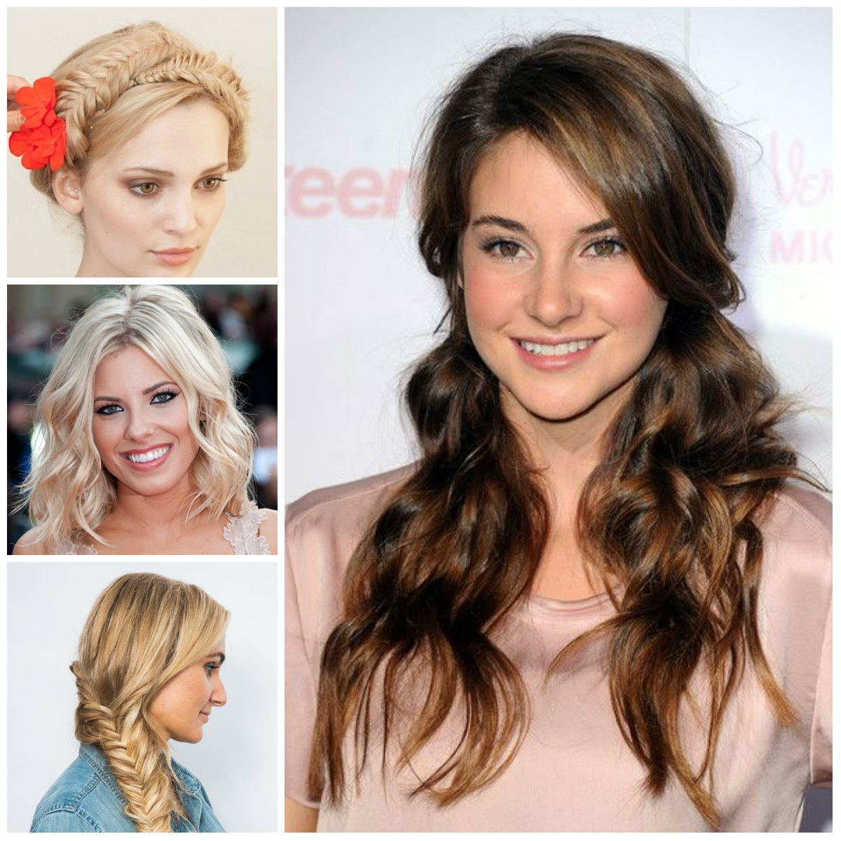 2016 Lovely Hairstyle Ideas for Teenage Girls | 2017 Haircuts ...
