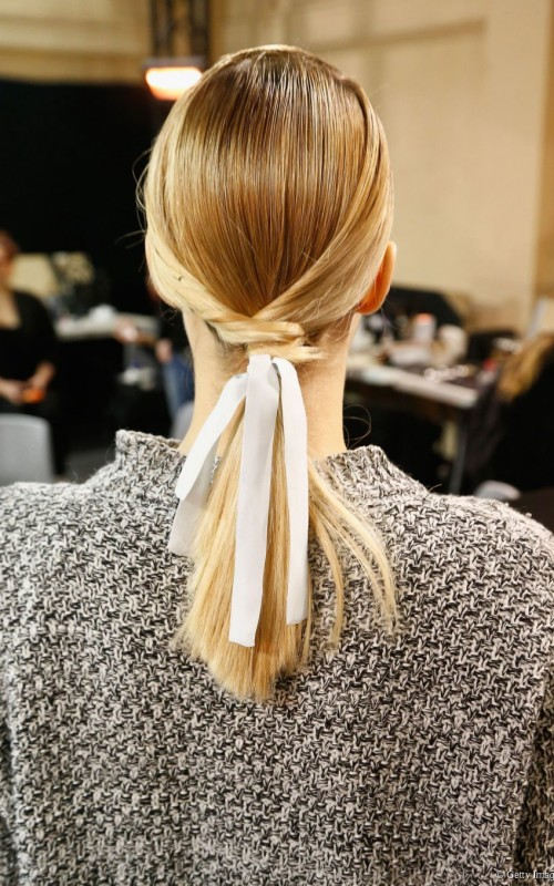twisted ponytail hairstyle 2016