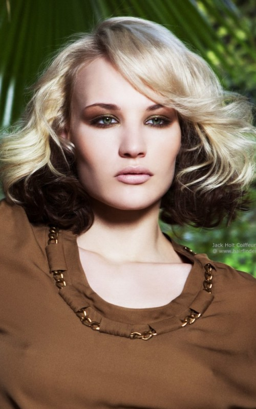 2016 Two Tone Hair Colors For Short Haircuts 2019
