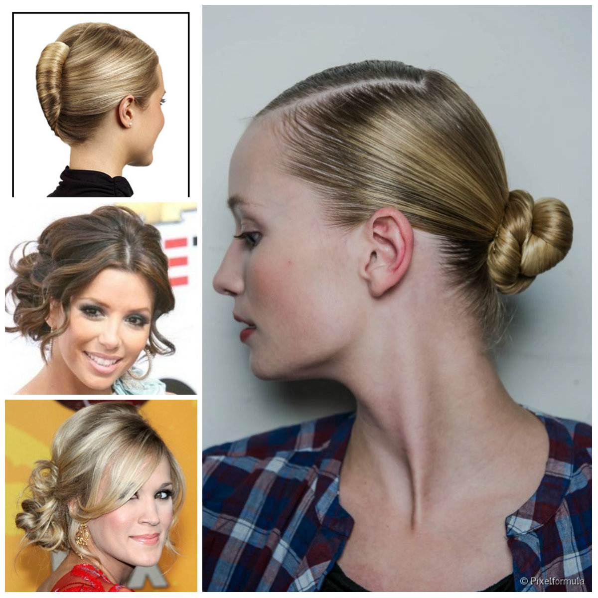2016 Pretty Updo Hairstyles For Midi Hair 2019 Haircuts