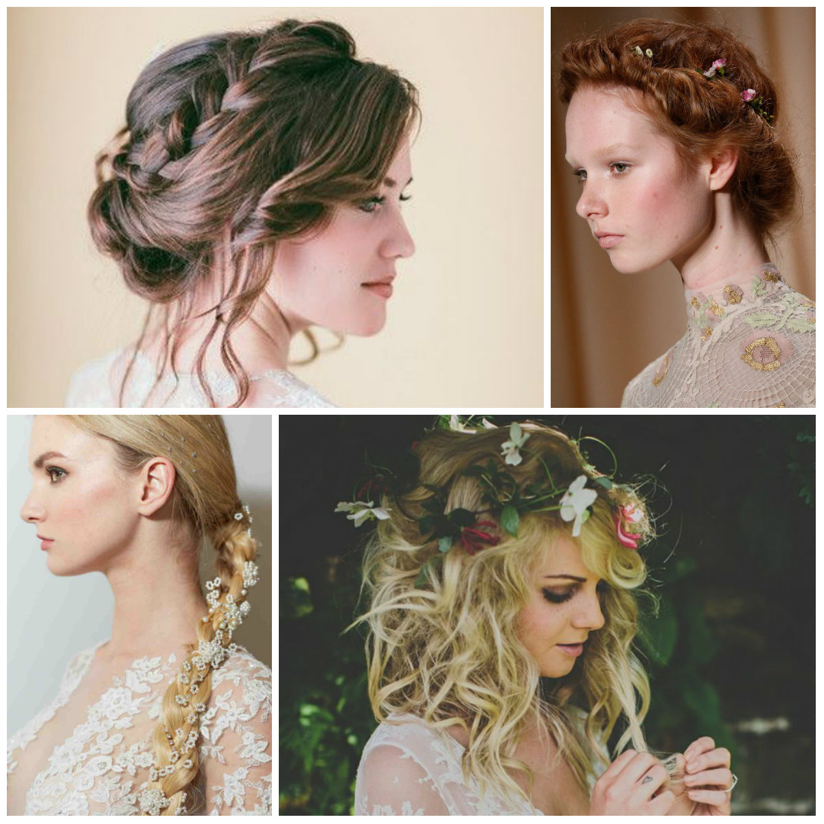 wedding hairstyles for spring 2016