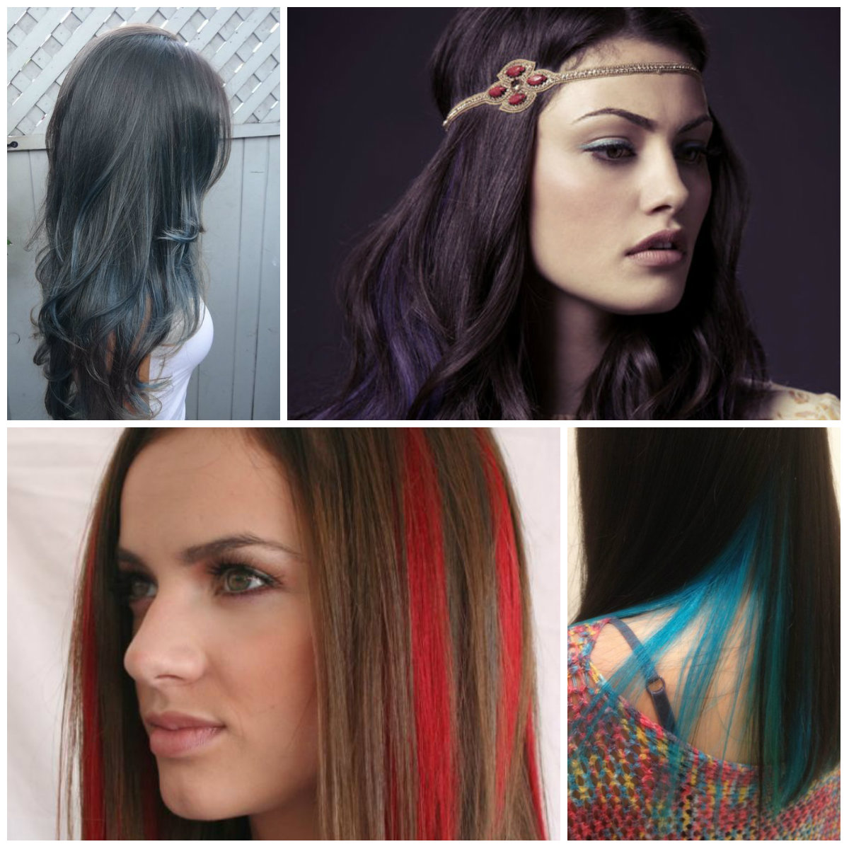 bold highlights for brunette hair 2016