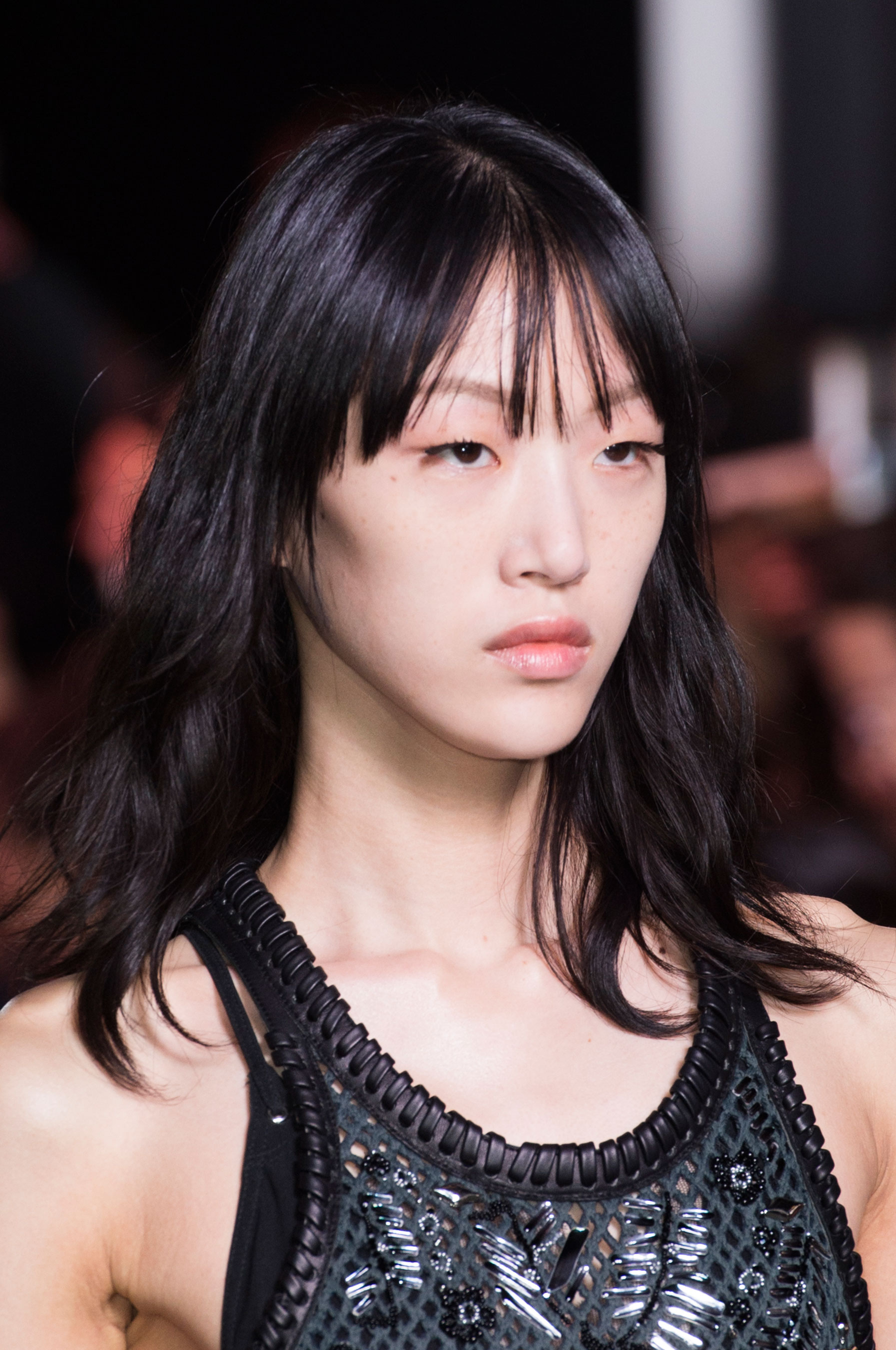 Edgy Hairstyle Ideas From Louis Vuitton Spring 2016 Show
