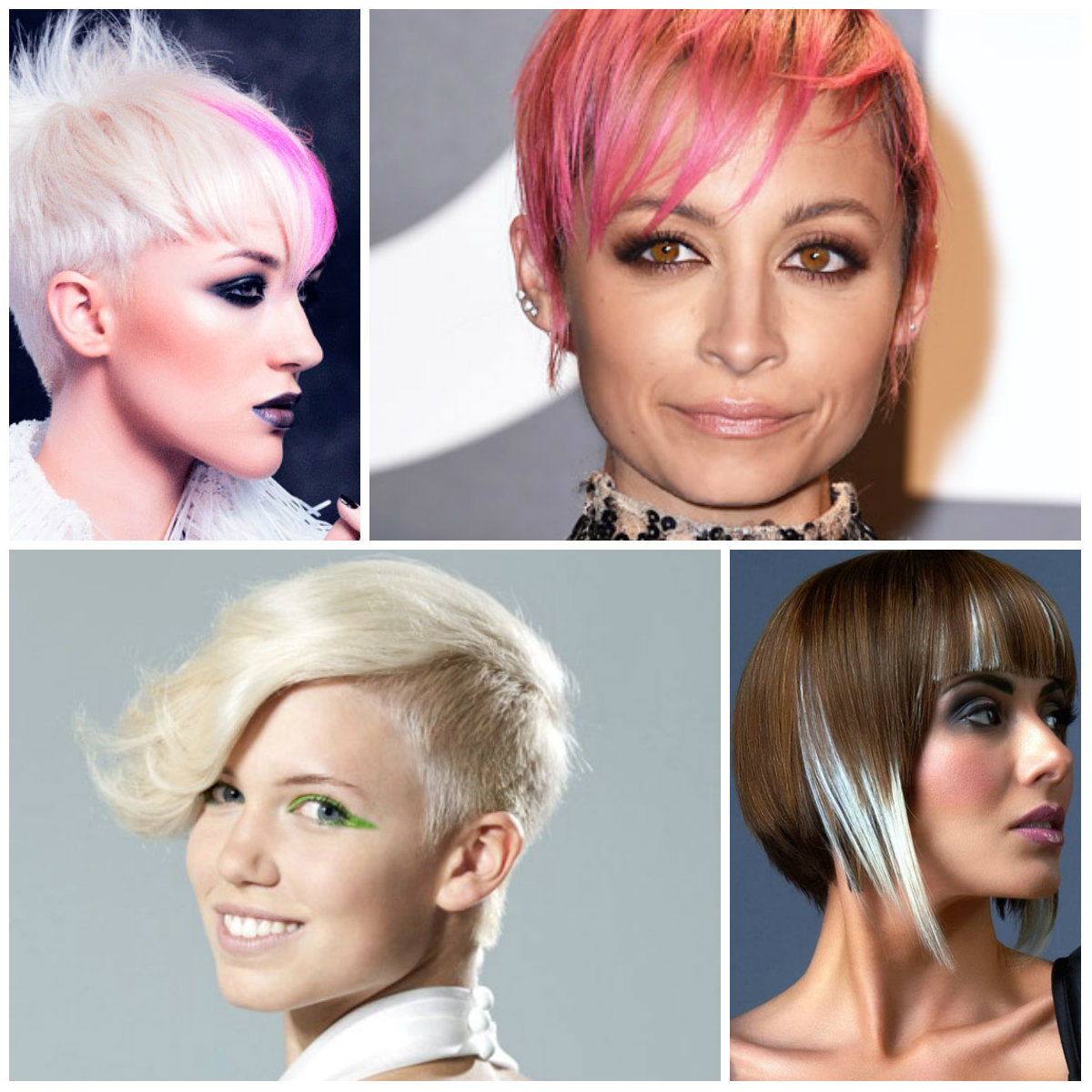 funky hairstyles 2016