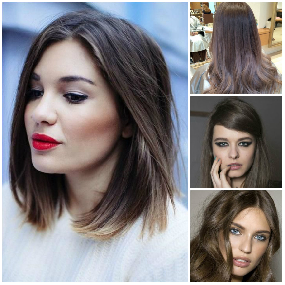 Ash brown hairstyles for 2016