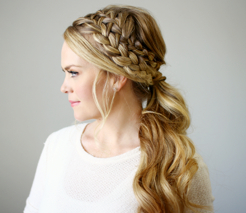 Braided Ponytail Hairstyles for 2016