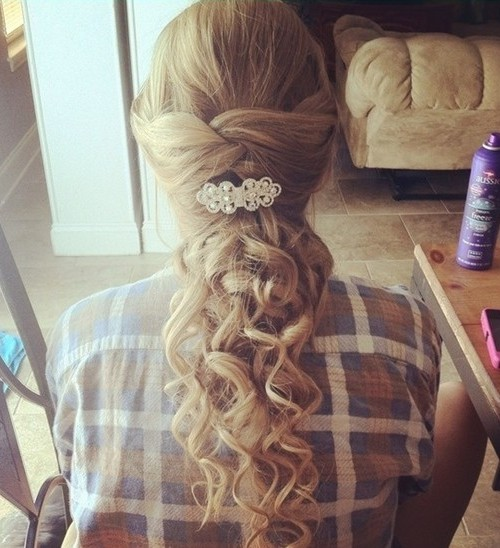 prom hairstyle for long hair 2016