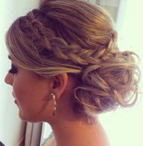 updo prom hairstyle