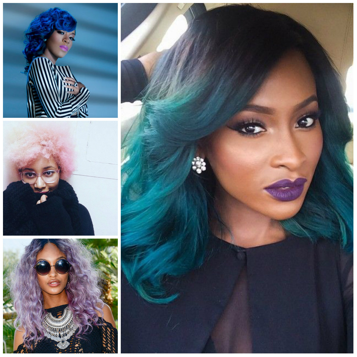 2016 Bold Hair Shades for Black Women