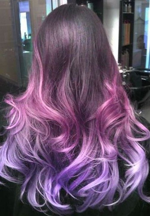 Purple hair color ideas for 2016