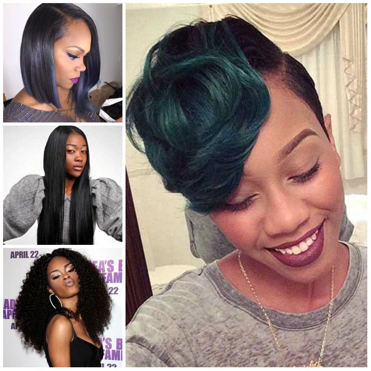coolest hairstyles for afroamerican women 2016