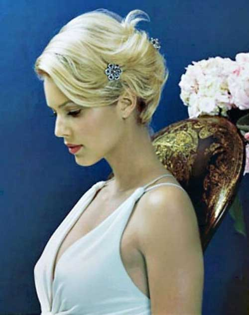 Hairstyles For Your Wedding : Short wedding hairstyles for 2016 2017 haircuts and