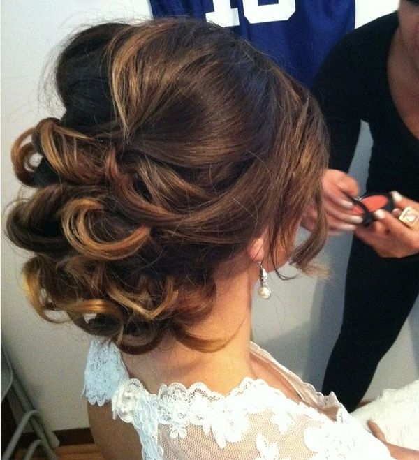 half updo wedding hairstyle 2016