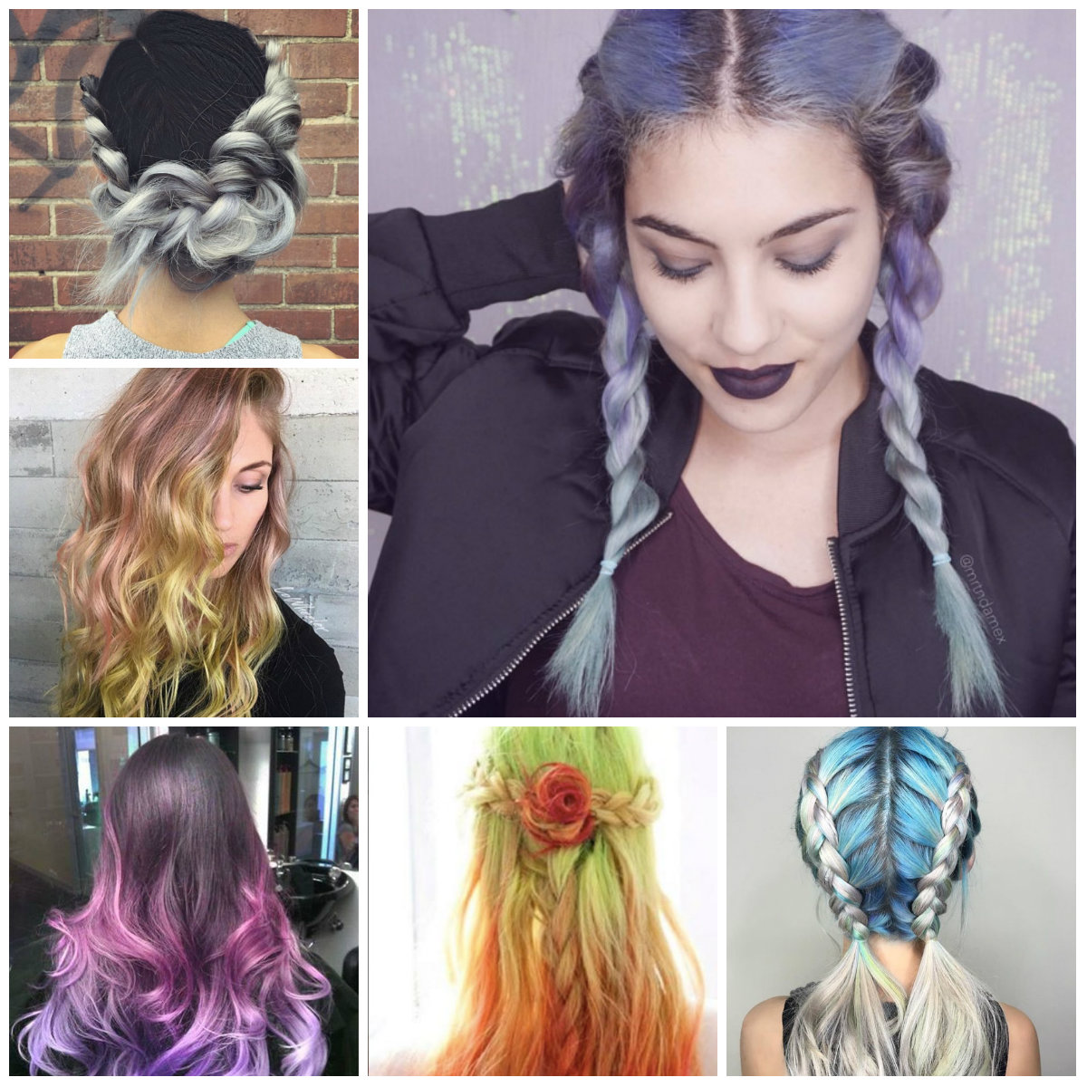 multi tone hair color ideas for 2016