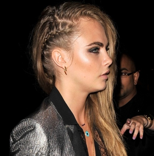 side braid for girls 2016